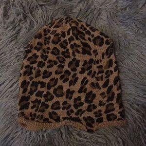 Nordstrom Accessories - Leopard Beanie